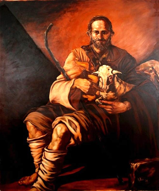 """""""La Palabra se hizo carne y habitó entre nosotros. Y nosotros hemos visto su gloria, gloria que recibe del Padre como Hijo único, lleno de gracia y de verdad. Juan da testimonio de él, al declarar: 'Este es aquel del que yo dije: El que viene después de mí me ha precedido, porque existía antes que yo'""""."""