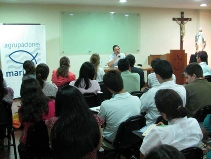 reunion agrupaciones marianas