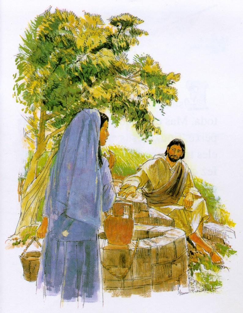 El Señor Jesús desea el encuentro con cada persona, nadie le es indiferente, todo lo contrario. Él siempre busca acercarse, como con la samaritana, a cada una de nosotras.
