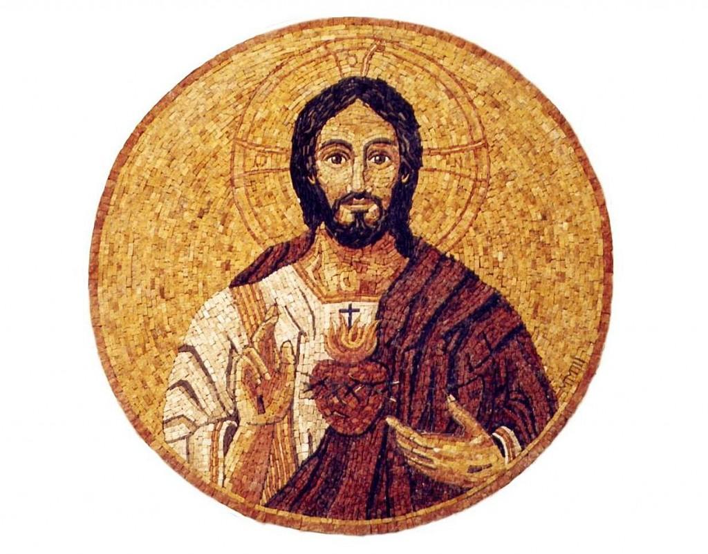 Corazon de Jesus( mosaico)