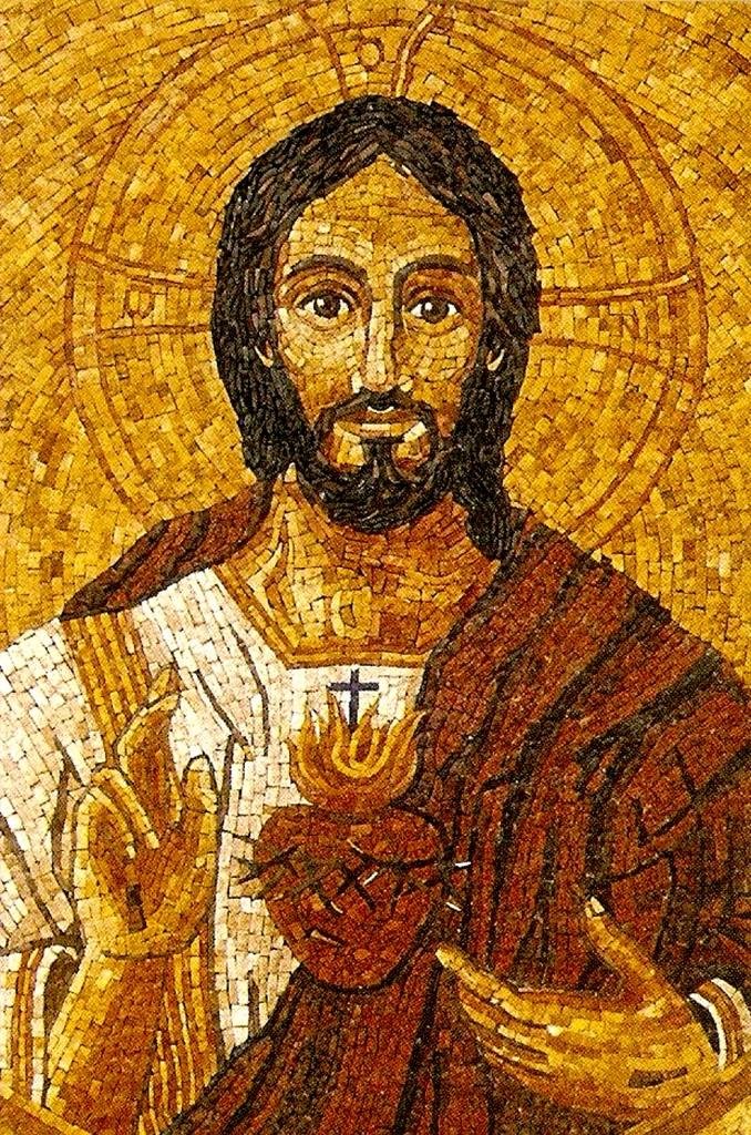 Mosaico Sagrado Coraz¢n de Jes£s