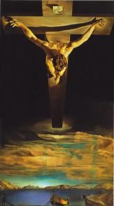 Cristo de San Juan de la Cruz - Salvador Dalí