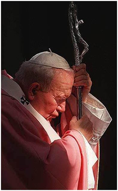 """""""La oración es un medio excelente puesto por Dios para que los hombres recorran el camino de la plenitud y de la amistad con Él. Para encontrarse, para ser auténtico, para amar, la oración es el camino""""."""