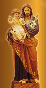 """""""San José, casto esposo de la Virgen María; intercede para obtenerme el don de la pureza…""""[39]."""