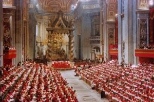 Concilio Vaticano II, que se realizó en Roma entre 1962 y 1965