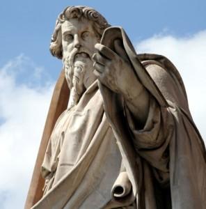 """""""Predicar el Evangelio no espara mí ningún motivo degloria sino más bien un deberque me incumbe.¡Y ay de mí si no predicara elEvangelio!""""[22]."""