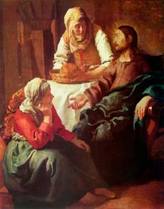 Cristo-en-el-casa-de-María-y-Martha_Jan-Vermeer